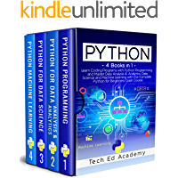 PYTHON: Learn Coding Programs with Python Programming and Master Data Analysis & Analytics, Data Science and Machine…