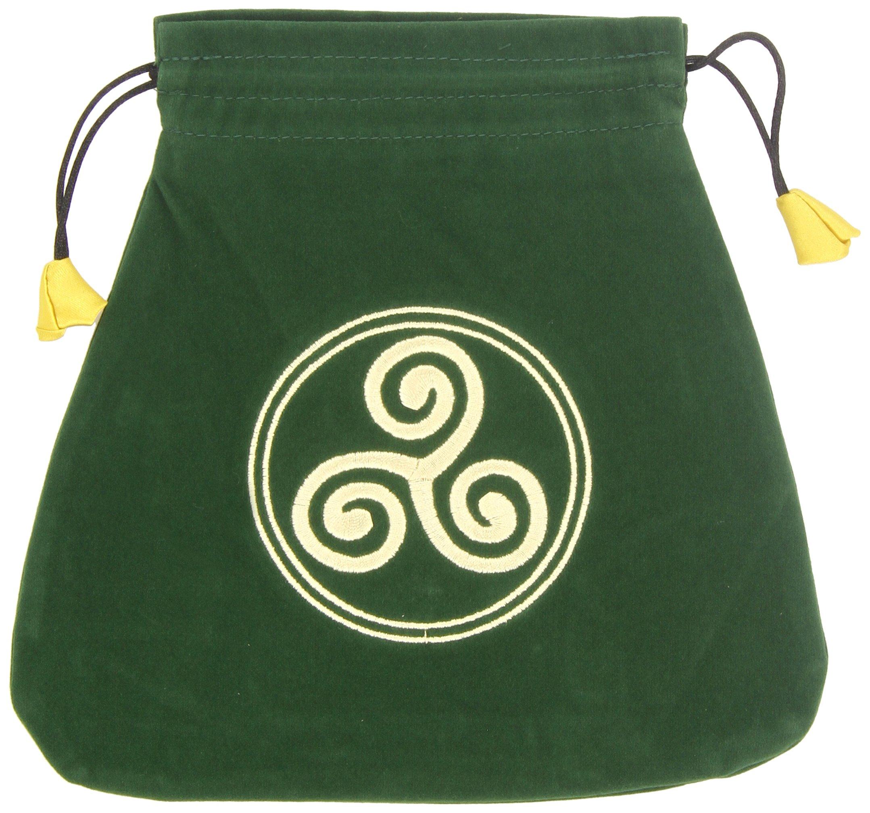 Celtic Triskel Velvet Bag (Bolsas de Lo Scarabeo Tarot Bags ...
