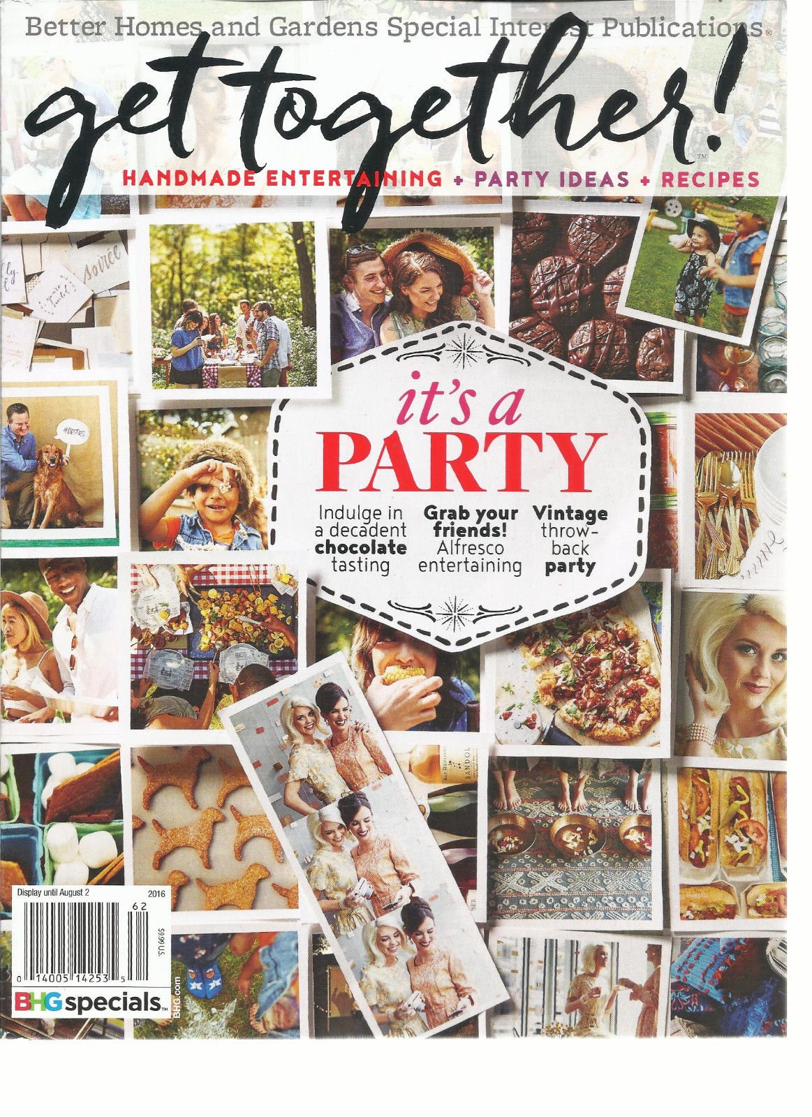 Better Homes and Gardens Get Together 2016, Hand made entertaining+ Party idea +