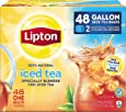 Lipton Gallon Sized Black Iced Tea Bags, Unsweetened, 48 Count