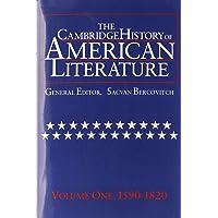 The Cambridge History of American Literature: Volume 1