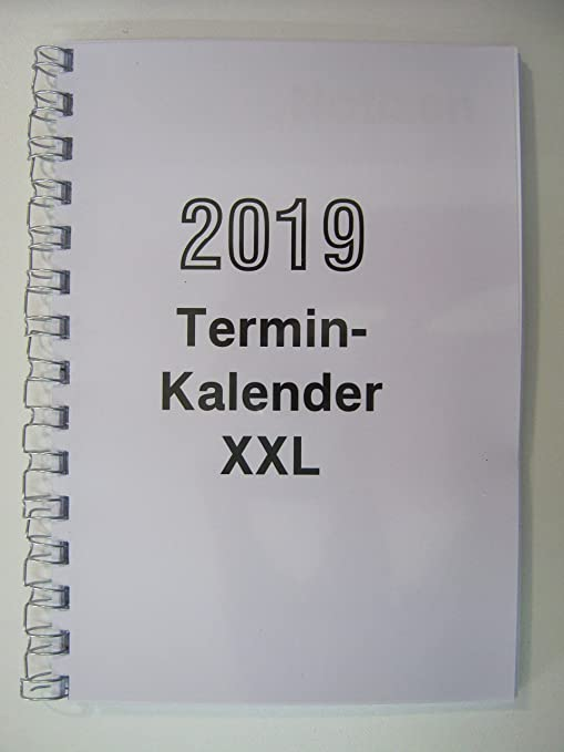 Agenda Calendario XXL DIN a 5 grande Impresión 2018: Amazon ...