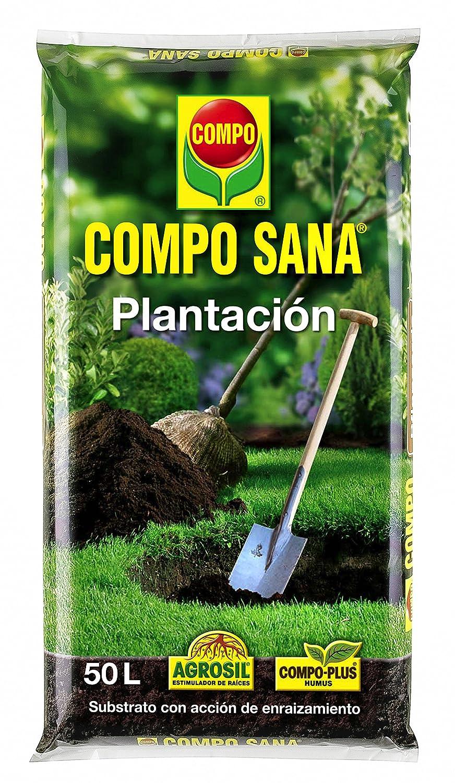 Compo Substratos y turbas Sana plantación, 50 l: Amazon.es: Jardín