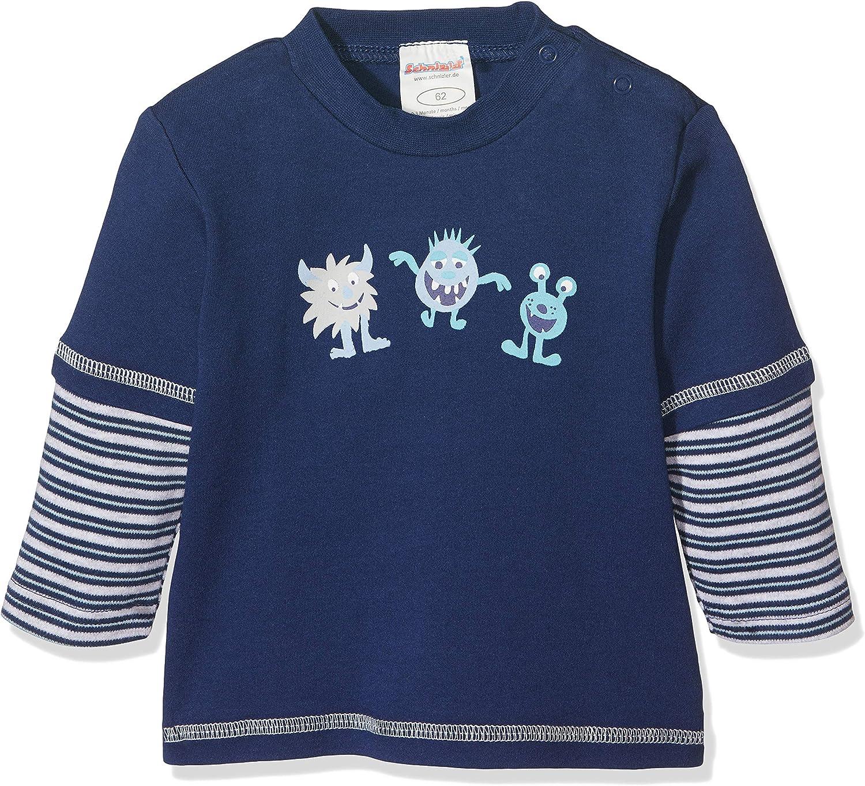 Schnizler Baby-Jungen Sweat-Shirt Feuerwehr Langarmshirt