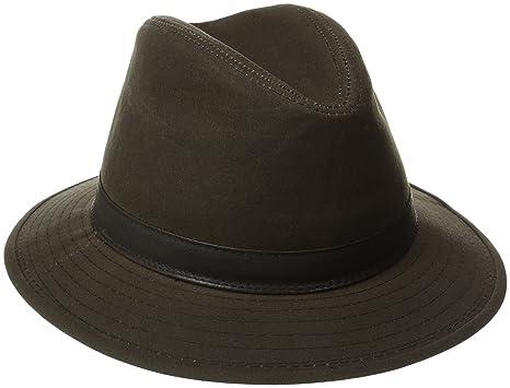 bd1d4d8e34ea9 Woolrich Men s Wax Cotton Safari Hat at Amazon Men s Clothing store