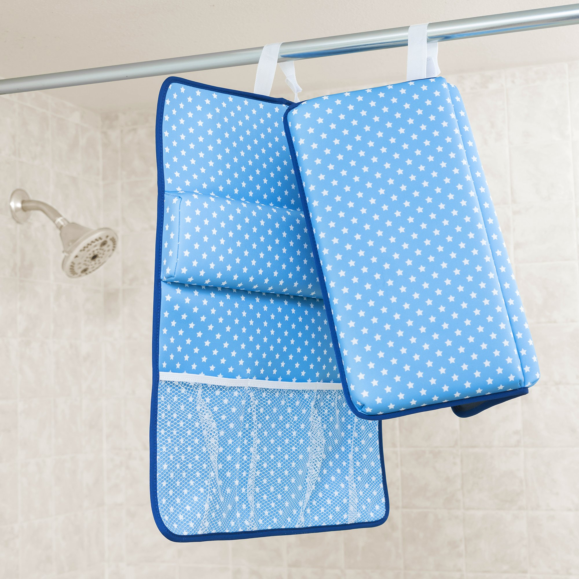 Strictly Stuff Baby Bath Kneeler and Elbow Pad (Pink). Thick, Soft Knee Padding. Durable Neoprene Material and Design. Non-Slip Backing with Suction Cups. Fits All tubs. Three Great Color Patterns. by Strictly Stuff (Image #4)