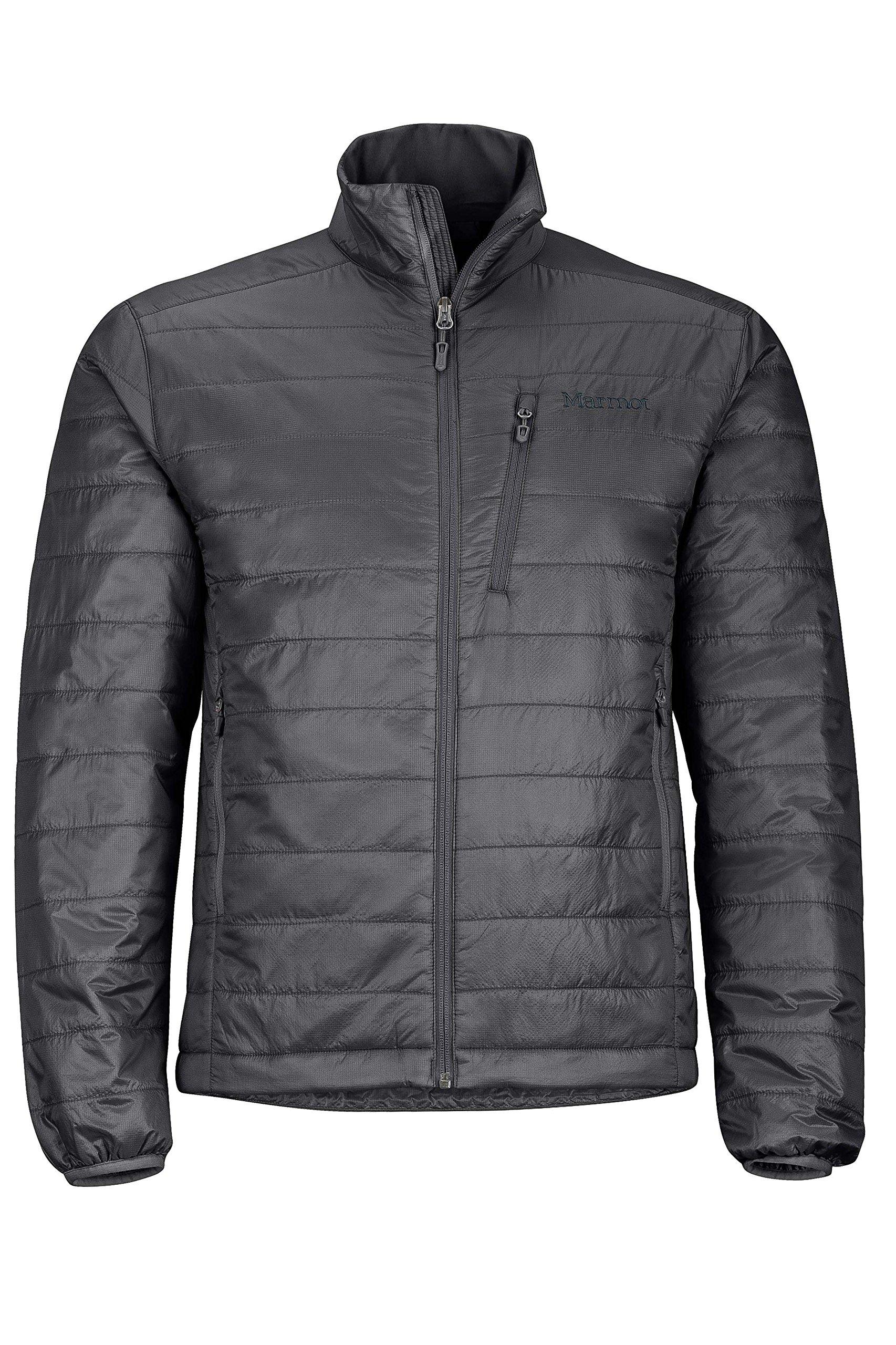 Marmot Men's Calen Insulated Puffer Jacket, Jet Black, Large by Marmot