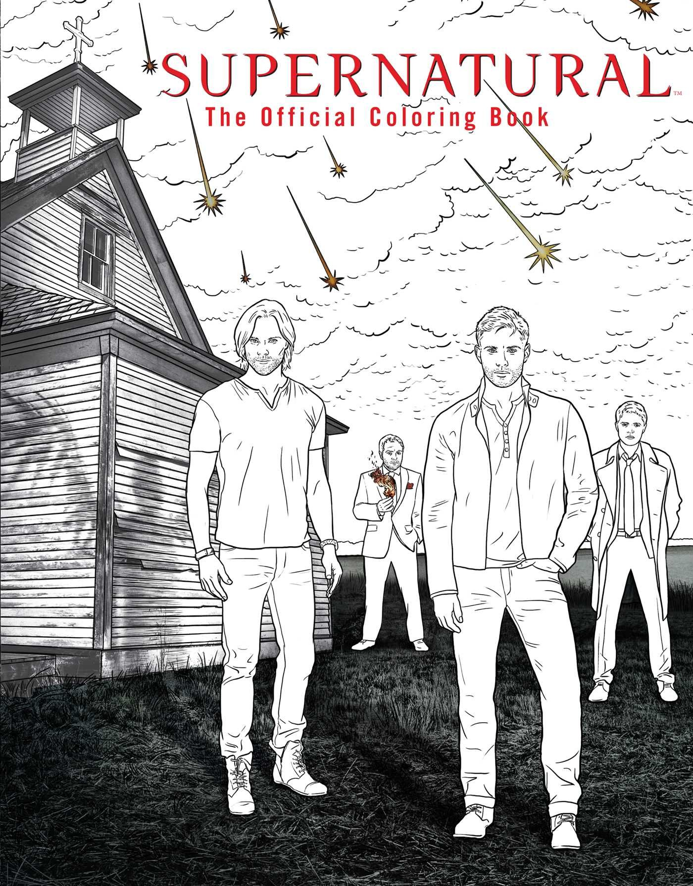 The coloring book full album - Supernatural The Official Coloring Book Insight Editions 9781608878185 Amazon Com Books