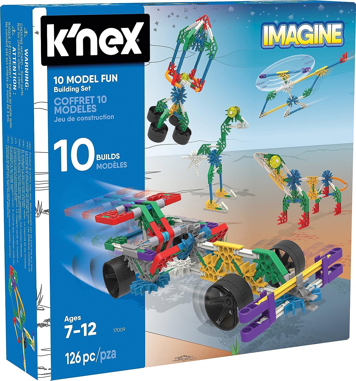 KNex KNEX Imagine - Juego de 10 construcciones para niños a ...