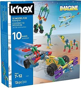 K Nex Knex Imagine Juego De 10 Construcciones Para Ninos A Partir