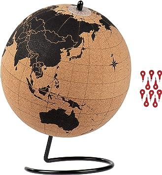 "Globes For Classroom Decorations Home Decor Office Desktop 10/"" World Map Globe"