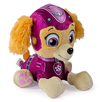 78c8d25fb47 Image Unavailable. Image not available for. Colour  Nickelodeon Paw Patrol  - Air Rescue Pup Pals Plush - Skye Stella