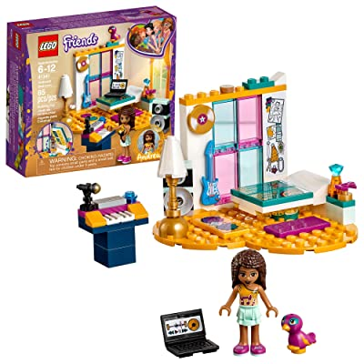 LEGO Friends Andrea's Bedroom 41341 Building Kit (85 Piece): Toys & Games