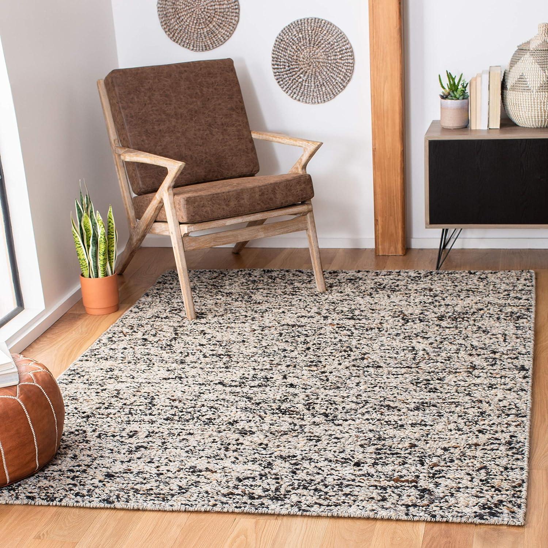 Amazon Com Safavieh Natura Collection Nat263f Handmade Wool Area Rug 3 X 5 Beige Grey Furniture Decor