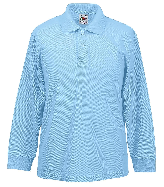Childrens Long Sleeve Polo Shirts