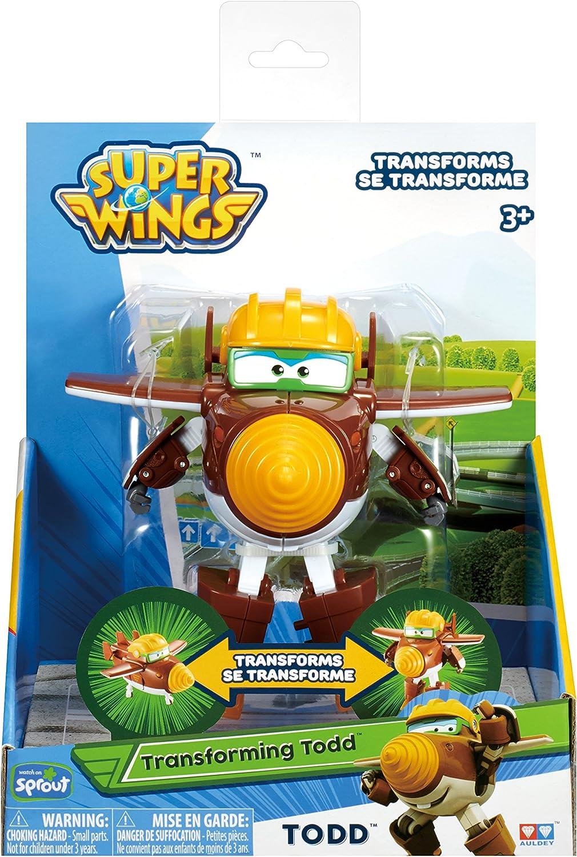Super Wings Transformaci/ón de Todd 5 escala