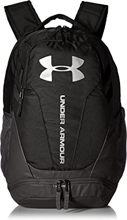 Under Armour Mens Ua Hustle Backpack Ldwr Waterproof Bag with Two Compartments and Laptop Storage