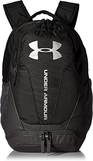 mantener lona Nueva Zelanda  Amazon.com: Under Armour Hustle 3.0 Hustle, Black (001)/Silver, One Size: UNDER  ARMOUR: Clothing