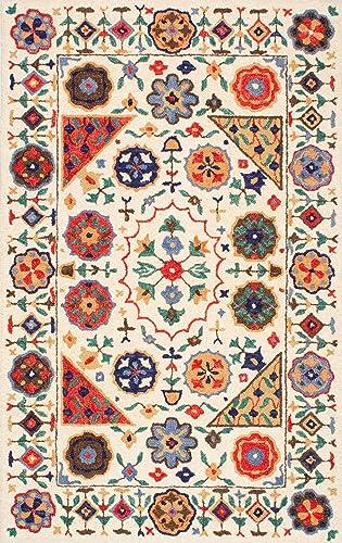 nuLOOM Deonna Hand Tufted Wool Rug, 6 x 9 , Multi