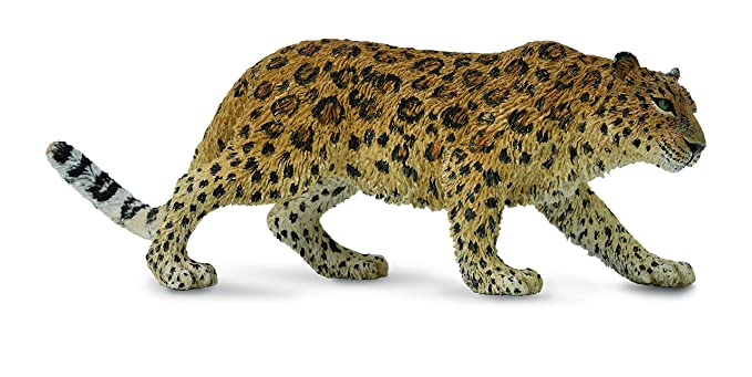 Collecta Plastic Tan with Black Spots Amur Leopard