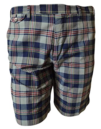 Polo Ralph Lauren Hombre la India Madras pantalones cortos de ...
