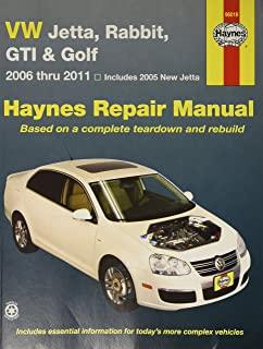 Haynes Repair Manuals VW Jetta, Rabbit, GTI, GLI & Golf 05-