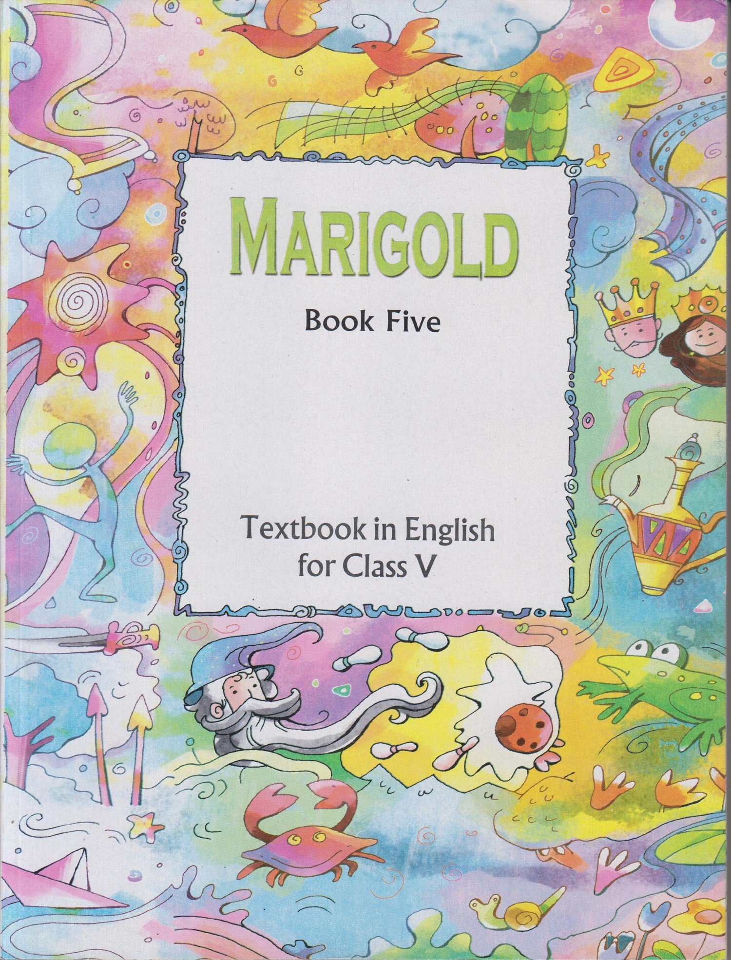 Marigold - Textbook in English for Class - 5 - 526: Amazon in: NCERT