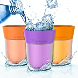 Flavor Enhancing water Cup - Orange, Peach and Grape flavor. Helps you drink more water instead of Soda, Juice and Sugary Drinks. By The Right Cup