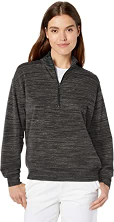 Daily Ritual Amazon Brand Women's Terry Cotton & Modal Quarter-Zip