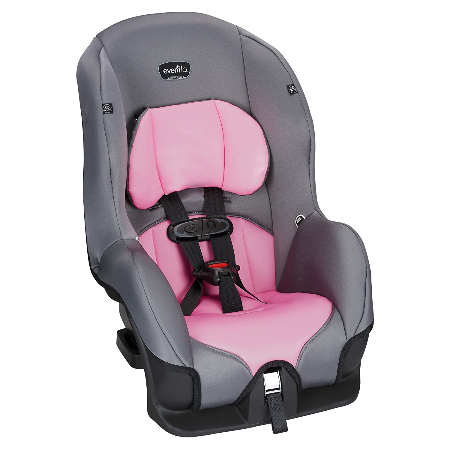 Evenflo Tribute LX Convertible Car Seat Pink Ice 38112121