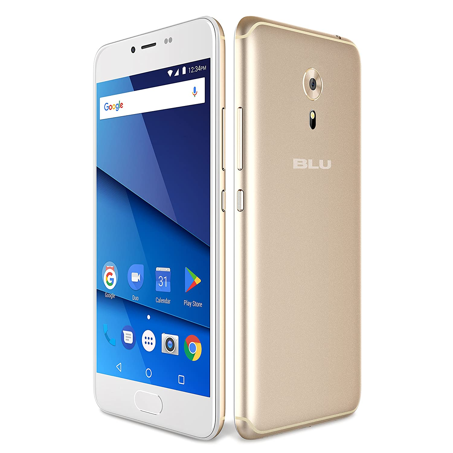 BLU R1 HD 2018 Factory Unlocked Phone - 5.2Inch Screen - 16GB - Gold (U.S. Warranty) R020P