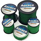Aorace Braided Line Dark Green Color Braided Fishing Line 4 Strands 100M-1000M Braid Fishing Line 8Lb-100LB Super Strong Braid Line PE Line