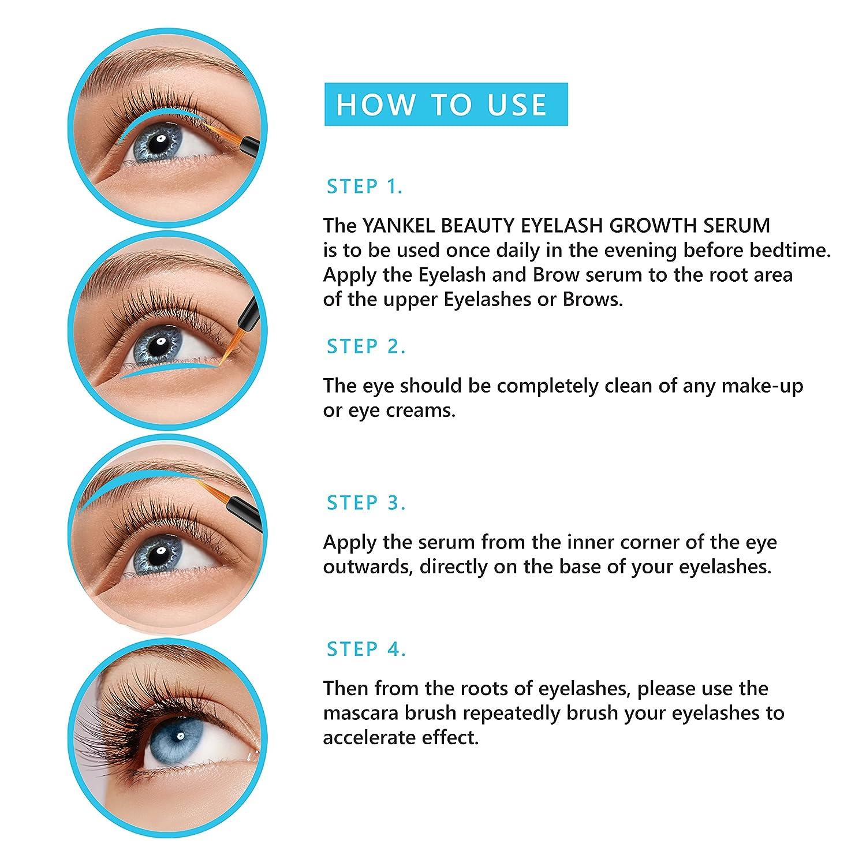 Amazon Eyelash Growth Serum Usa Made Eyelash Serum For