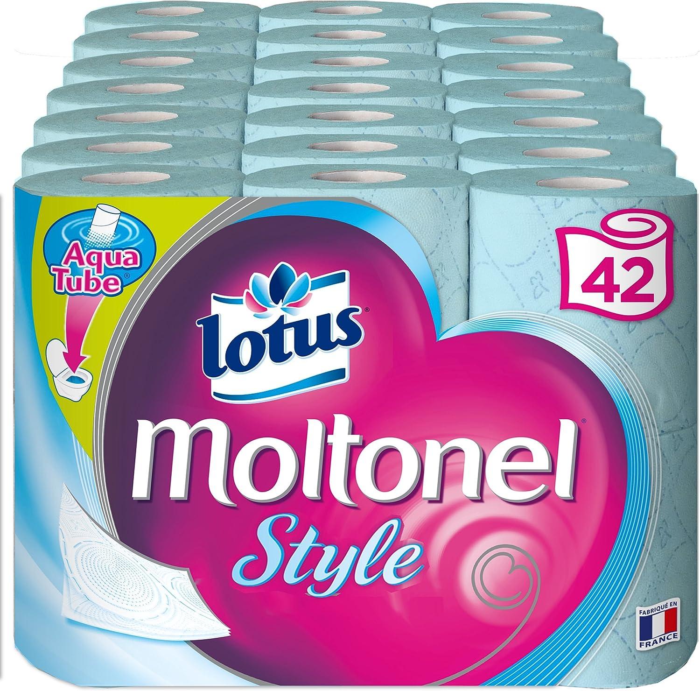 Lotus Moltonel Estilo Papel Higiénico 3 capas, colores aleatorio ...