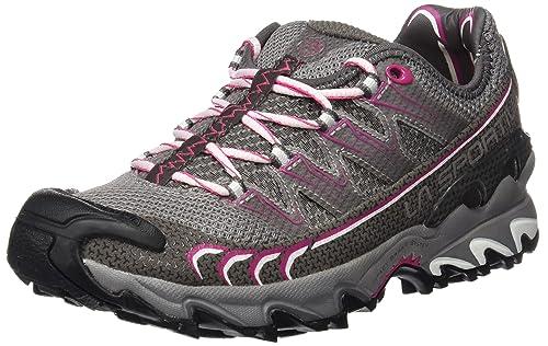 La Sportiva Ultra Raptor - Deportivos de Running para Mujer, Color Gris/Rosa, Talla 38.5: Amazon.es: Zapatos y complementos
