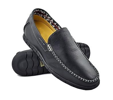 ZERIMAR Mocasines con Alzas para Hombre Aumento 6 Cm Fabricados en Piel de Ternera Forro Interior: Amazon.es: Zapatos y complementos