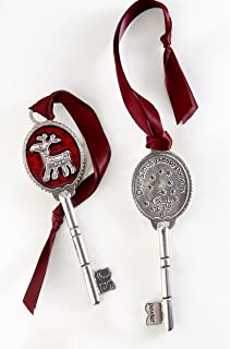 product image for Crosby & Taylor Rudy The Reindeer Pewter Santa's Key