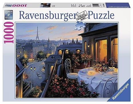 Ravensburger Puzzle Balkon Pariser 1000 Teile 19410