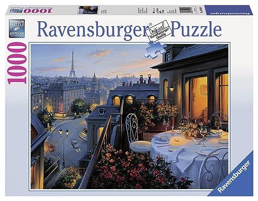 12 opinioni per Ravensburger 19410 0- Balcone a Parigi, Puzzle 1000 Pezzi
