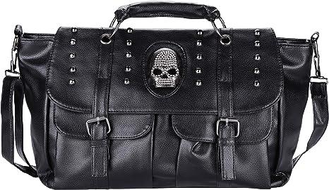 Sound Women Purse Pu Leather Shoulder Bag Punk Motorcycle Rivet Shoulder Bag The Single Shoulder Bag