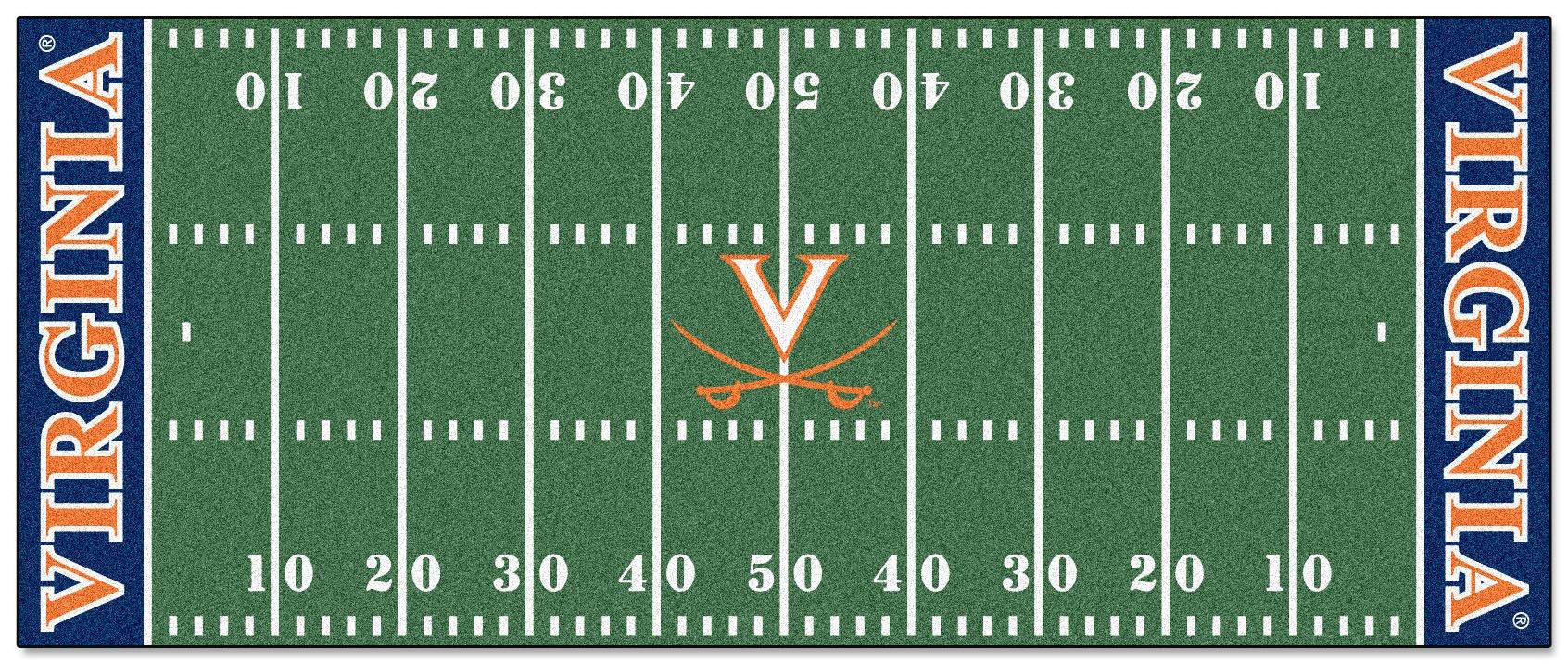 Football Runner Floor Mat - University of Virginia