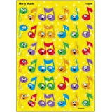 Trend Enterprises Merry Music Sparkle Stickers (72 Piece)