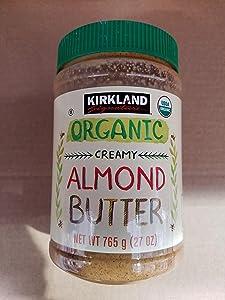 Kirkland signature Organic Creamy Almond Butter