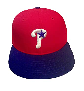37306d3f791872 Image Unavailable. Image not available for. Color: MLB 59fifty Fitted  Philadelphia Phillies Game Hat ...