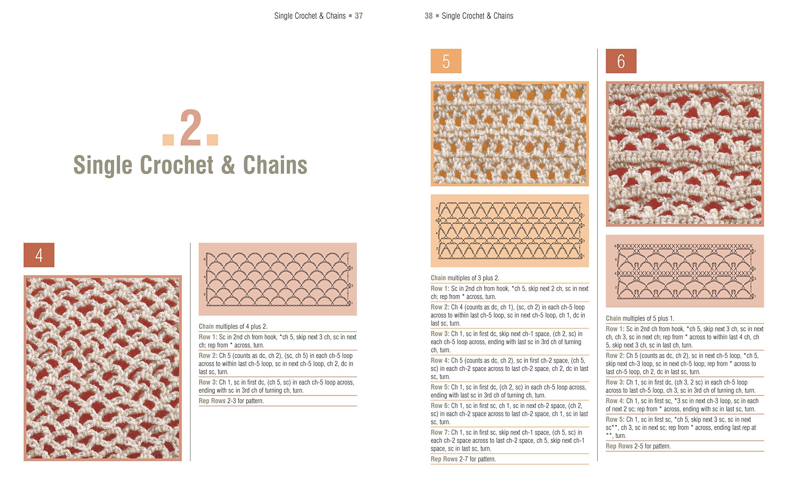 The Complete Book of Crochet Stitch Designs: 500 Classic & Original  Patterns (Complete Crochet Designs): Linda P. Schapper: 9781454701378:  Amazon.com: Books