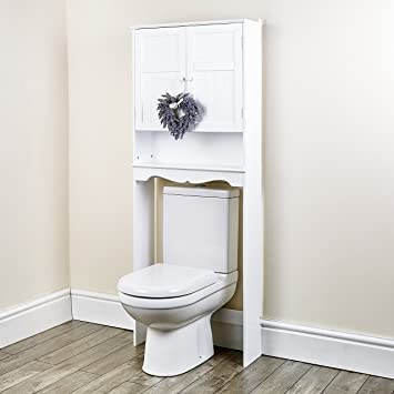 New White Space Saver Over Toilet Cabinet Bathroom Furniture Cupboard  Storage  Oxford White Space Saver. New White Space Saver Over Toilet Cabinet Bathroom Furniture