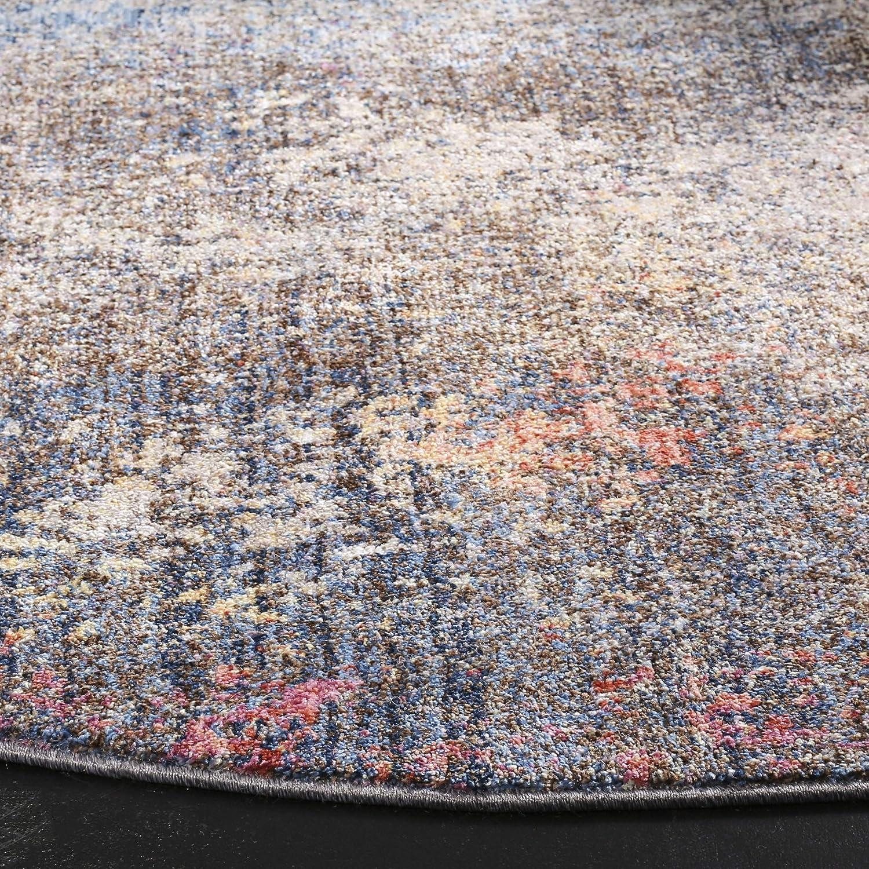 MNY651E-28 23 x 8 Safavieh Monray Collection MNY651E Blue and Ivory Runner