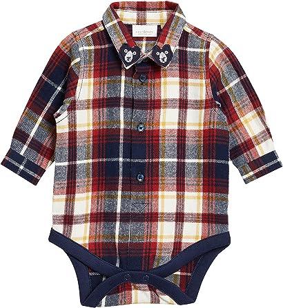 next Bebé-Niños Body Camisa Cuadros (0 Meses - 2 Años) Azul ...
