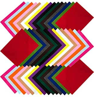100 sheets Dovecraft Assorted Jumbo Pack of Acrylic A4 Felt