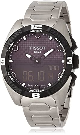 6447f5ee0e5b Image Unavailable. Image not available for. Color  Tissot Men s  T0914204405100 T-Touch Expert ...